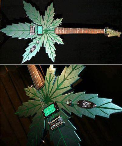 cannabis guitar