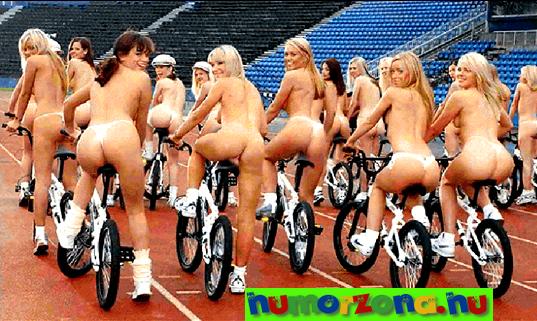 meztelen bicikli