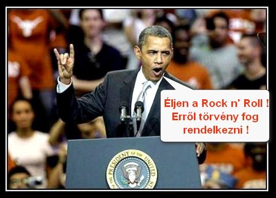 obama rock n roll