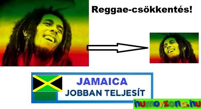 reggae csökkentés