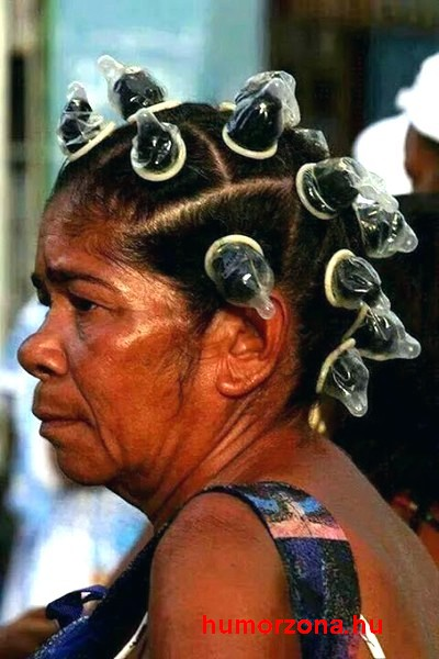 condom hair